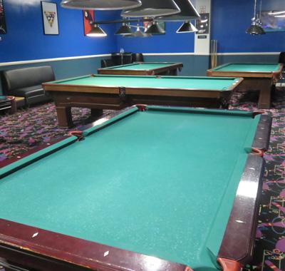 Winnetka Bowl Amenities BilliardsPool - Pool table identification