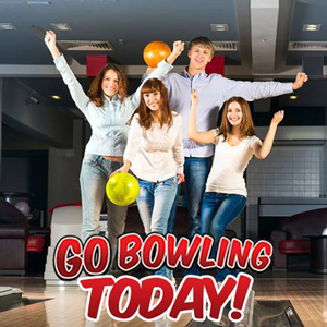 Go bowling today