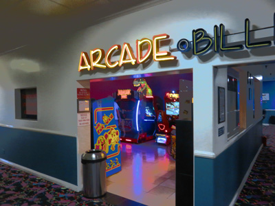 Winnetka Bowl Arcade Entrance