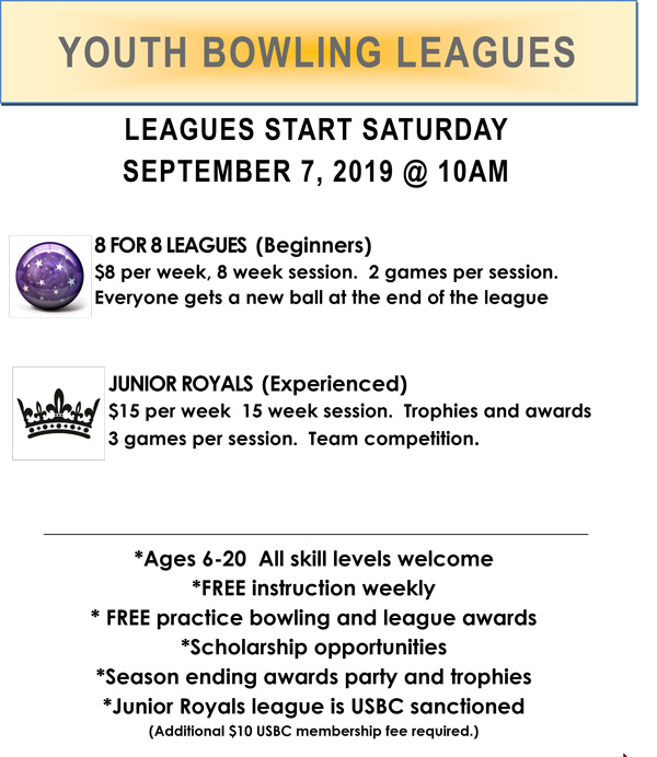 youth league flyer